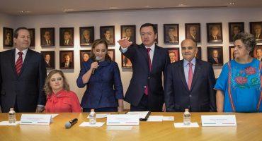 Osorio Chong será coordinador de la bancada del PRI en el Senado