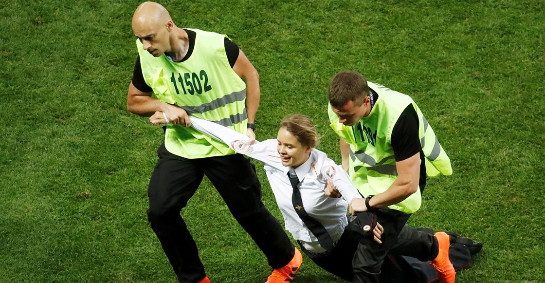 Ya hay castigo para las Pussy Riot tras su protesta en la final del Mundial de Rusia 2018