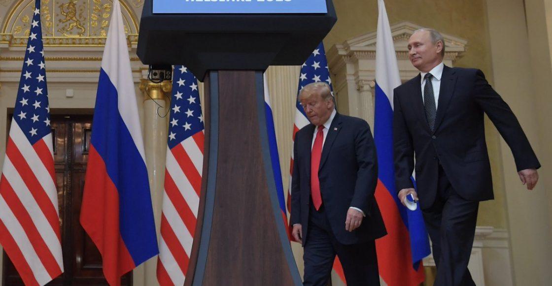 Trump y Putin en cumbre de Helsinki