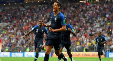 ¡Glorioso! Raphael Varane consiguió el doblete Champions-Mundial
