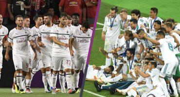 ¡Duelazo! Real Madrid y Milan jugarán por el Trofeo Santiago Bernabéu