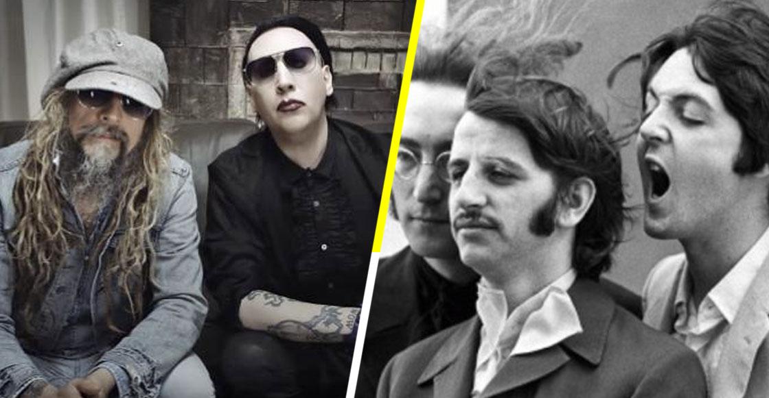 ¡Que empiece el headbanging! Marilyn Manson y Rob Zombie coverearon 'Helter Skelter' de The Beatles
