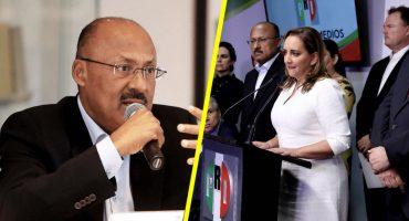 ¡Pum! René Juárez renuncia a la presidencia del PRI; Ruiz Massieu toma el cargo