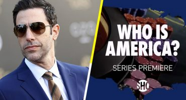 What?! Políticos americanos piden darles armas a niños en el nuevo programa de Sacha Baron Cohen, el creador de 'Borat'
