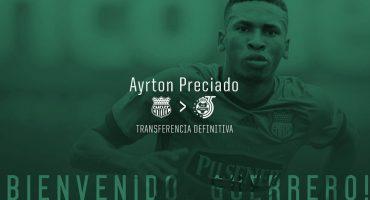 Santos anunció a Ayrton Preciado, un refuerzo tardío… pero ¿quién es?
