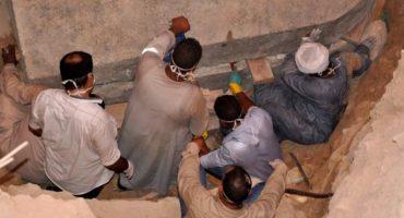 ¡Ya nos cargó! Han abierto el sarcófago egipcio de más de 2 mil años