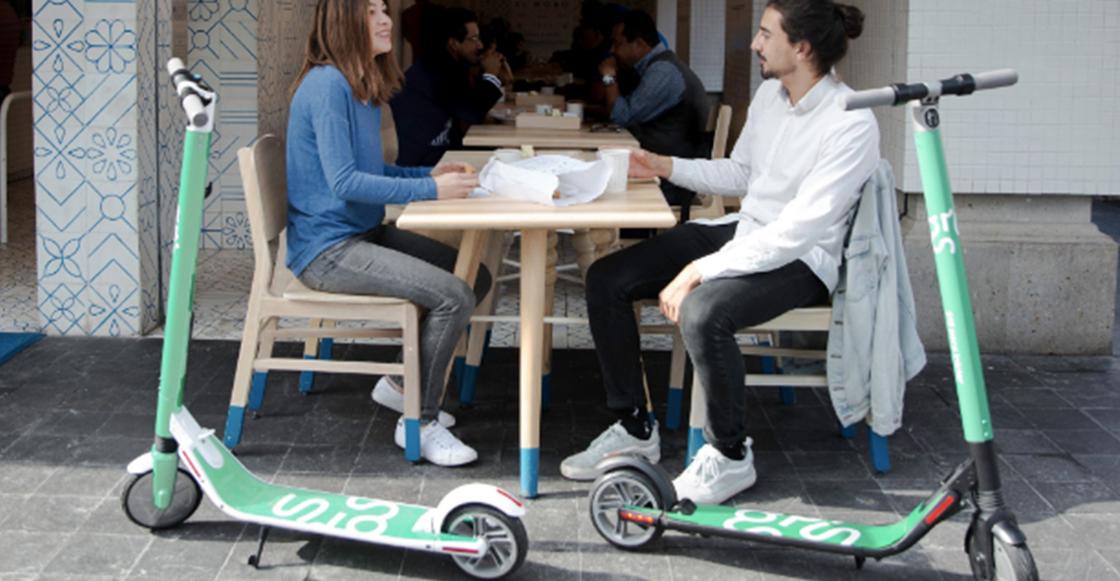 ¿Que no hay Ecobicis? Paséate en los nuevos scooters eléctricos