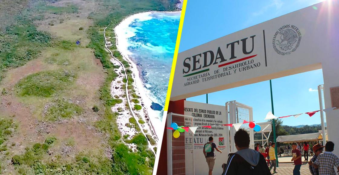 ¡Qué ofertón! Sedatu malbarata, en un solo día, terrenazo en la Riviera Maya
