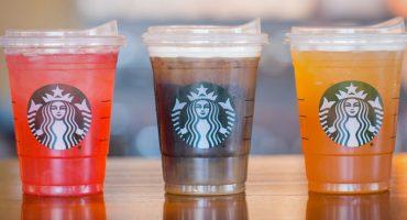 ¡Starbucks por fin se despide de los popotes de plástico!