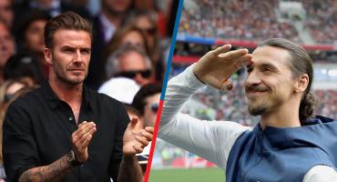 Ibrahimovic y Beckham prenden el Suecia-Inglaterra con una apuesta monumental