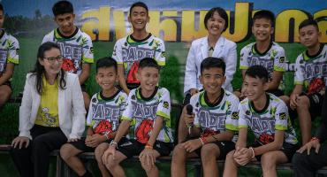 Las emotivas palabras del equipo tailandés tras abandonar el hospital
