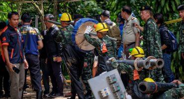 ¡Ya han sido rescatados 6 de los 12 niños atrapados en una cueva en Tailandia!
