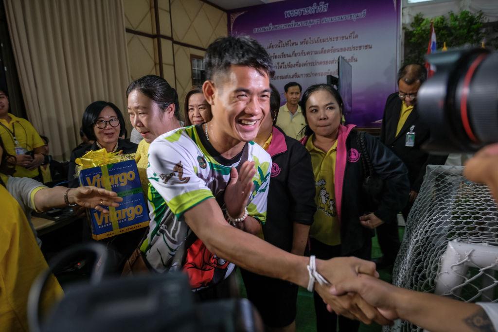 2018 tailandés salida