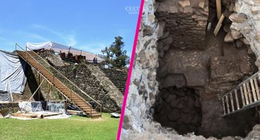Gracias al sismo del 19S fue descubierto un templo dedicado a Tláloc