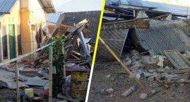 Terremoto de 6.4 grados en Indonesia deja 14 muertos y cientos de heridos