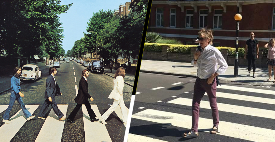 Paul McCartney recrea portada del Abbey Road… 49 años después