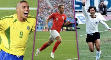 Estos son todos los campeones de goleo en la historia de los Mundiales