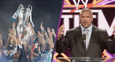 Are you ready? Triple H da cinturón de Campeón de WWE al Real Madrid
