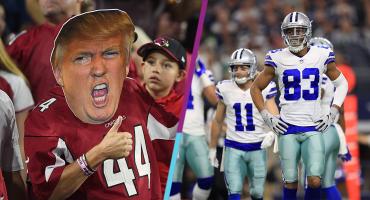 ¿Vamos a empezar? Trump aplaude medida de los Cowboys durante el himno