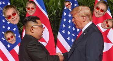 ¿Y Melania? Donald Trump le regaló un disco de Elton John a Kim Jong-un
