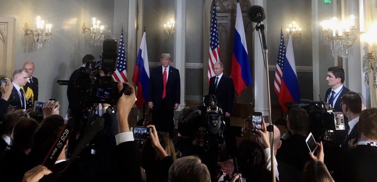 Cumbre en Helsinki Trump-Putin