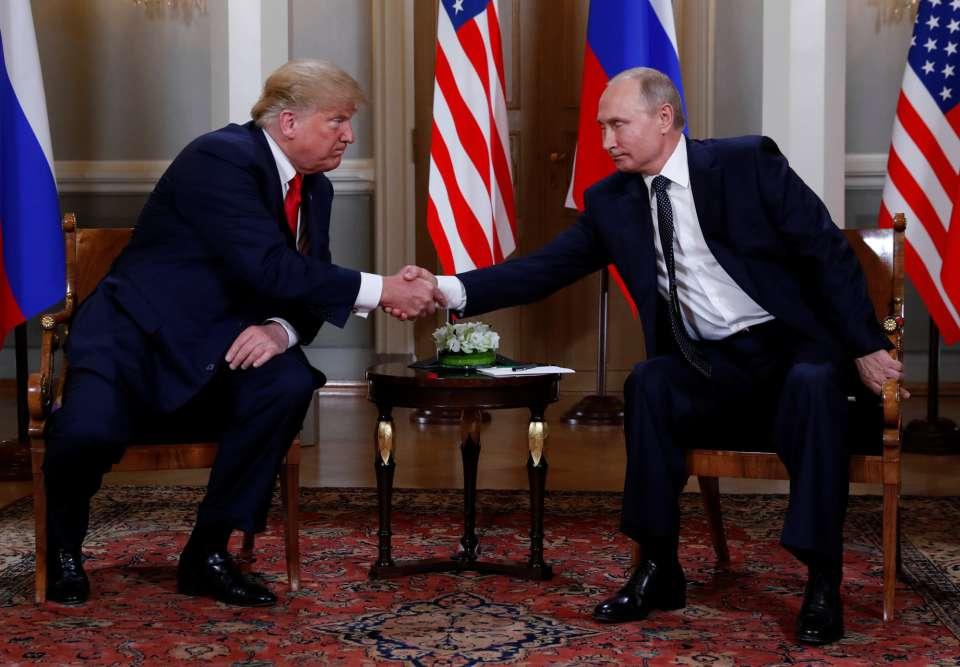 Cumbre en Helsinki, Trump-Putin