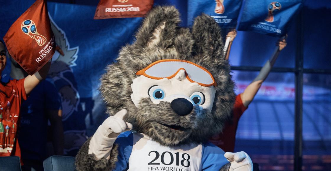 Rusia 2018 y su mascota