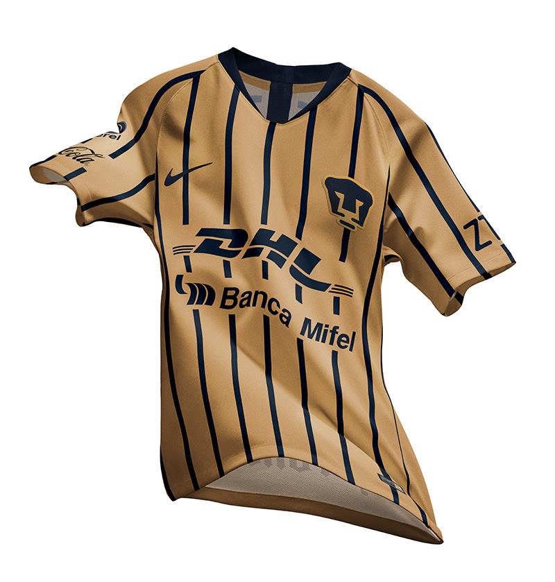 ¡Azul y oro! Pumas presenta sus nuevos uniformes para el Apertura 2018