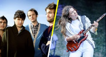 ¡Escucha a Vampire Weekend y Danielle Haim coverear 'The Boys Are Back in Town'!