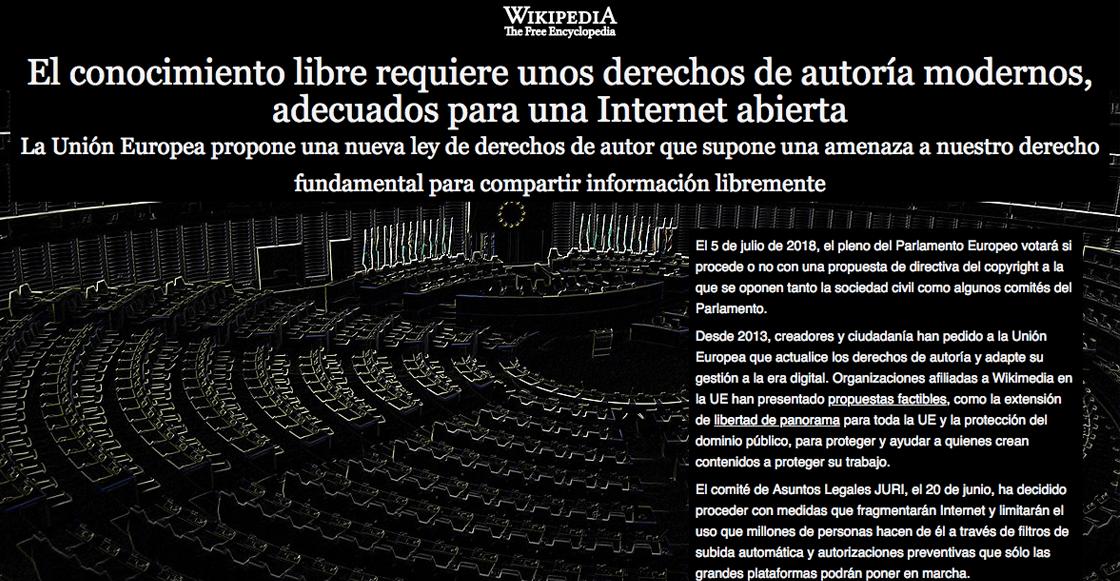 ¿Por qué Wikipedia ha decidido cerrar temporalmente?