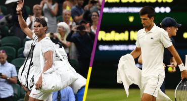 ¿Por qué se suspendió el partido entre Nadal y Djokovic en la Semifinal de Wimbledon?