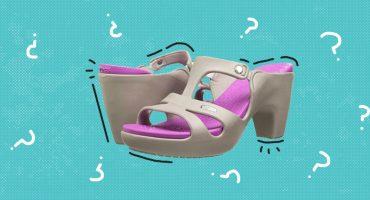 Ya existen las zapatillas de Crocs porque la vida no tiene ningún sentido