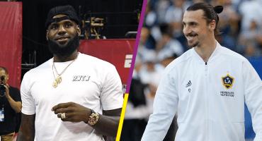 Zlatan ayudará a LeBron James en los Lakers si necesita ayuda