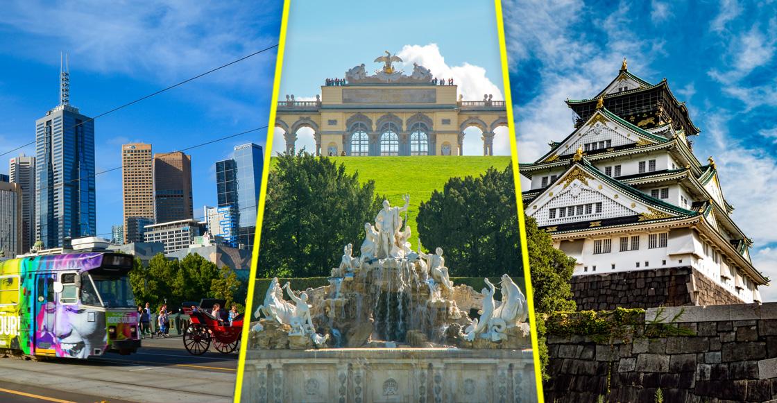 Este es el ranking 2018 de las 10 mejores ciudades del mundo para vivir