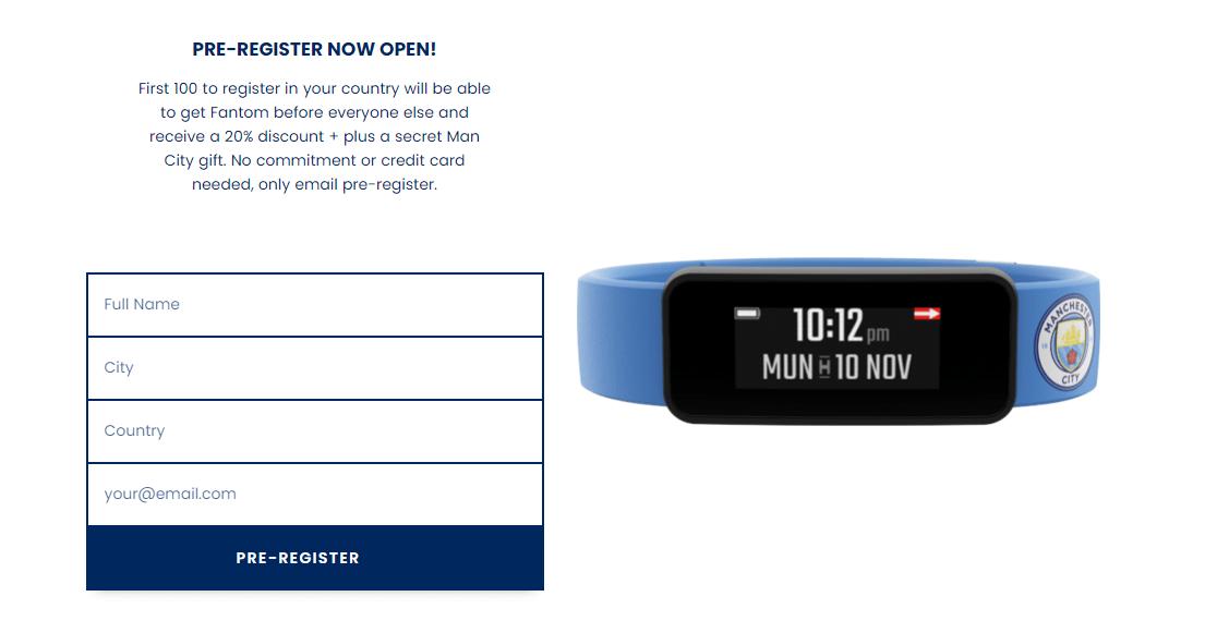 Nuevo Smartwatch del Manchester City brindará información y estadísticas del club