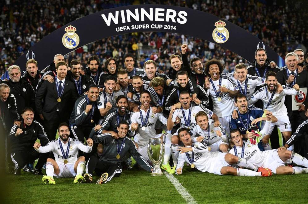 Así le fue al Real Madrid en la Supercopa de Europa con Cristiano y Zidane