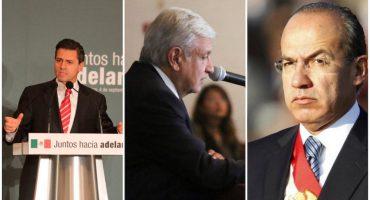 Antes de AMLO EPN y Calderón también pasaron por el proceso de transición