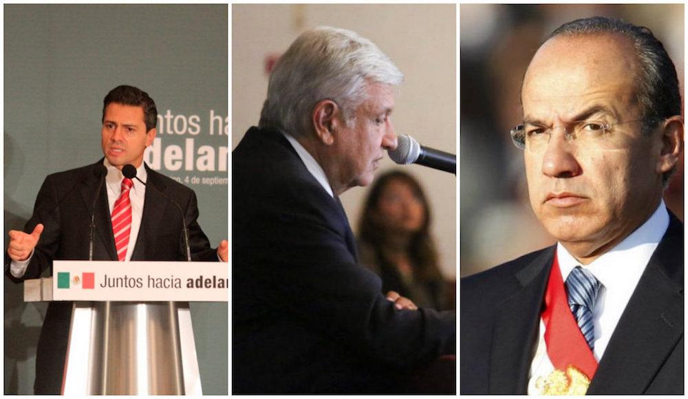 Antes de AMLO, EPN y Calderón también tuvieron su proceso transición