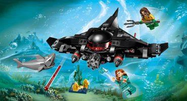 Aquaman: LEGO reveló con un set cómo lucirá el submarino de Black Manta