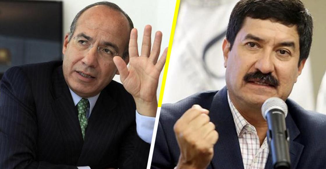 ¡Sestan peliando! Javier Corral y Calderón se agarran a tuitazos