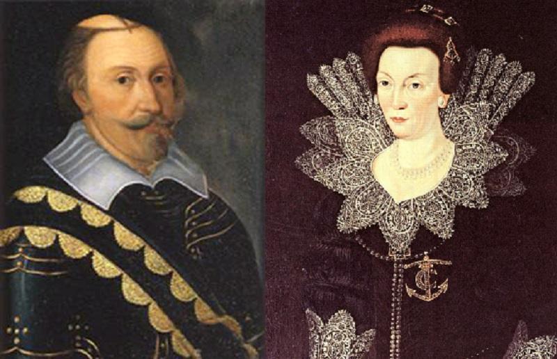 Carlos IX y Cristina de Suecia
