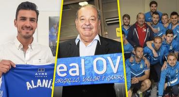 La curiosa historia de cómo Carlos Slim compró al Real Oviedo