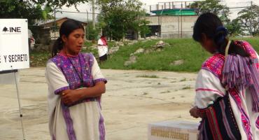 Indígenas de Chiapas califican como una 'burla' y 'farsa' elecciones del 1 de julio