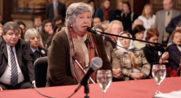 Fallece fundadora de Abuelas de Plaza de Mayo, sin haber encontrado a su nieta