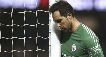 Claudio Bravo se perdería toda la temporada con el Manchester City