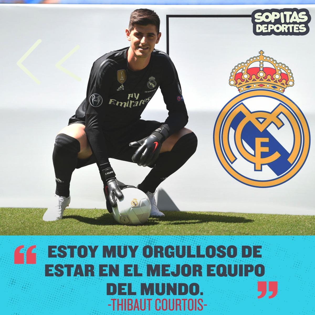 El día que Thibaut Courtois se burló del Real Madrid