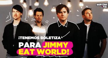 ¿Nostalgia noventera? ¡Tenemos boletiza callejera para Jimmy Eat World!
