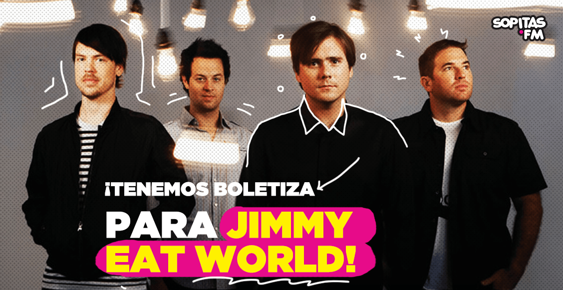 ¿Nostalgia noventera? ¡Tenemos boletiza callejera para Jimmy Eat World!