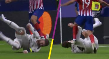 Diego Costa habló sobre el pisotón a la cabeza de Sergio Ramos 😱