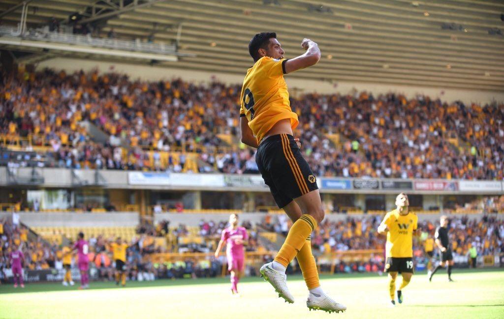 ¡Venga Wolverhampton! Raúl Jiménez le marca gol al Villarreal de Miguel Layún